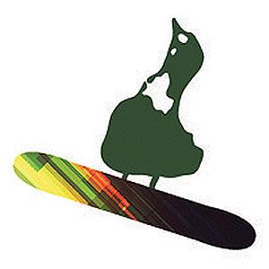 snowboard duck