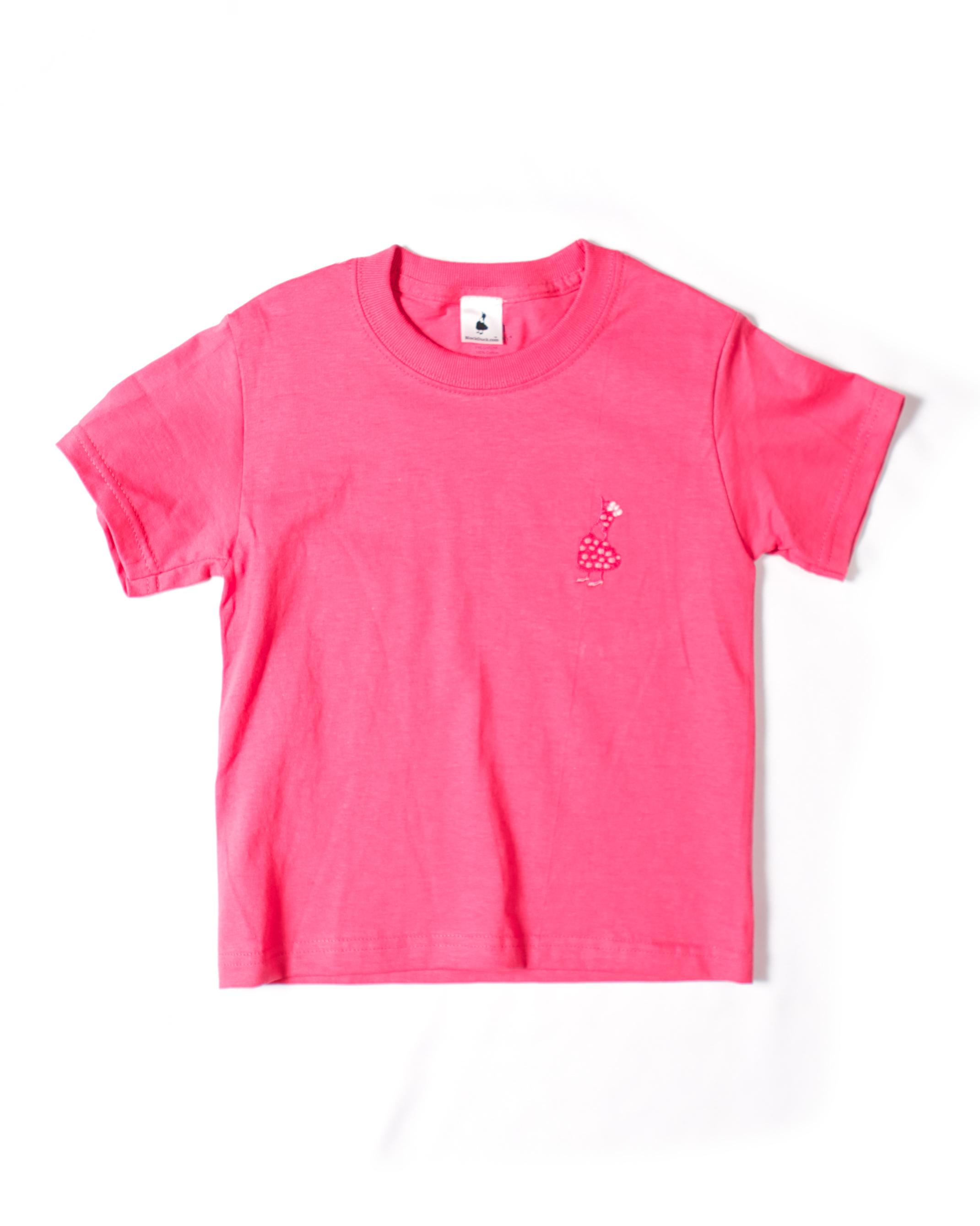 Z_Dark Pink Girls T