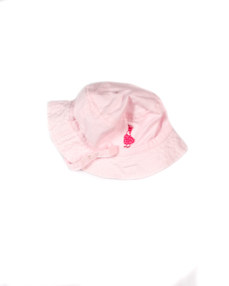 Z_Pink Bucket Hat Infant  Pink Duck