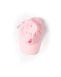 Z_Pink Girls BBall Hat Pink D